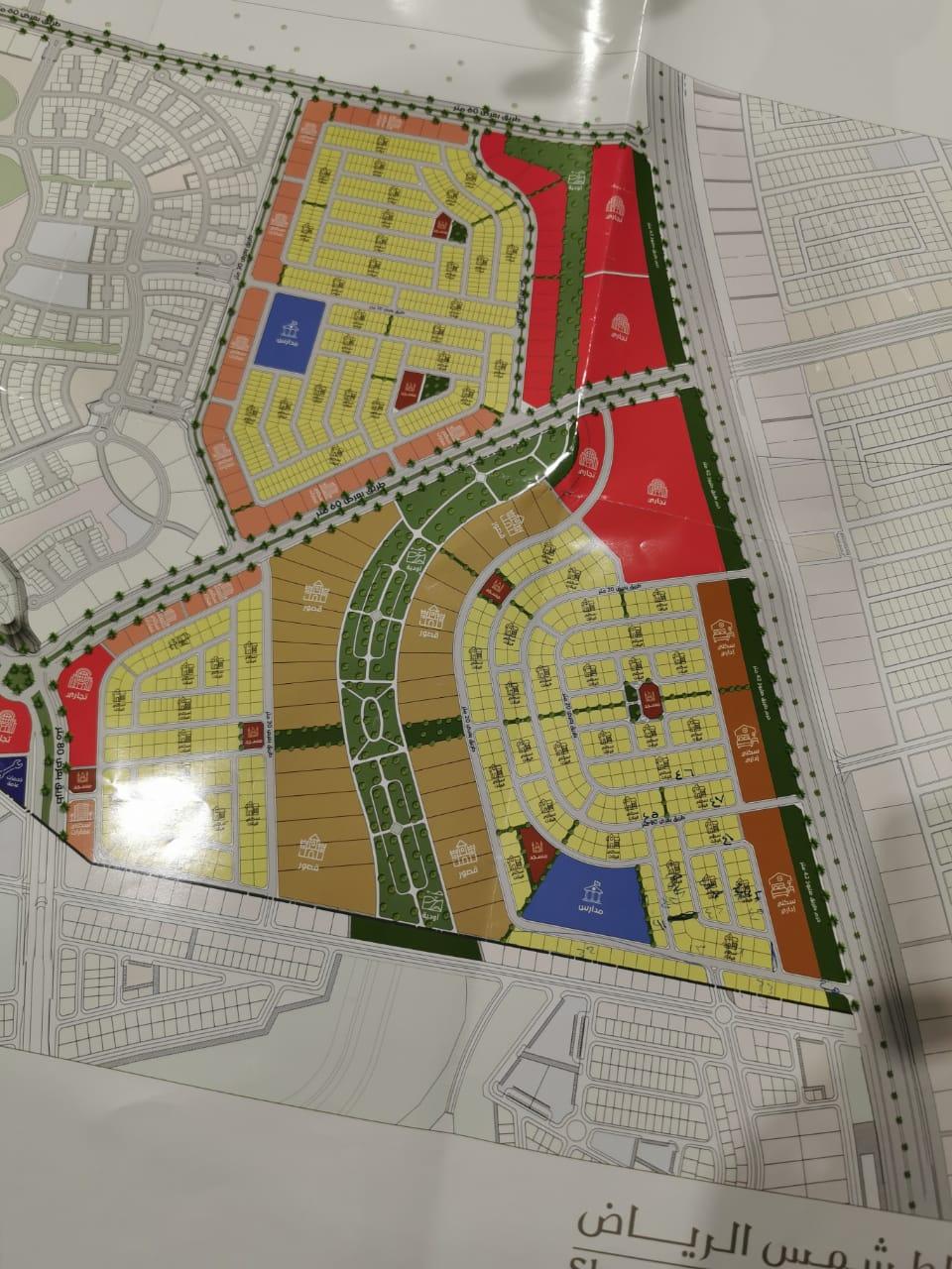 أراضي سكنية باقساط بسعر الكاش مخطط الرياض 0560752459