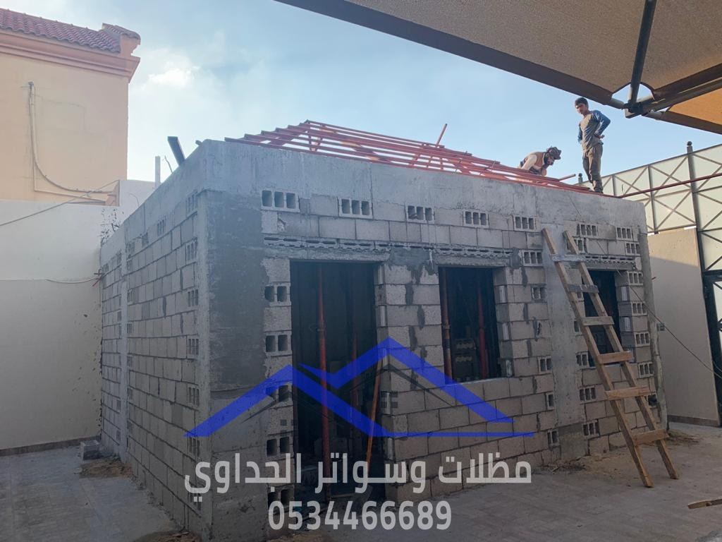 بناء ملاحق استراحات غرف مجالس في جدة , 0534466689 P_209294cky4