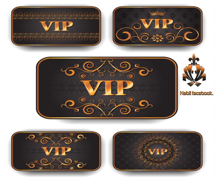 حصريااا بطاقات vip تصاميم مفتوحة قابلة للتعديل بالفوتوشوب والالستريتور بصيغة eps