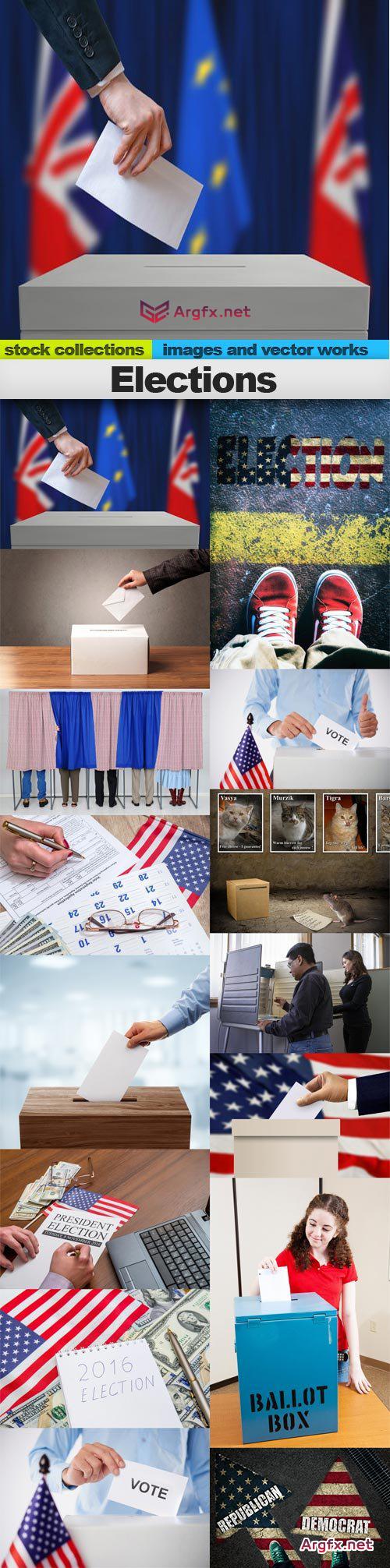 Elections, 15 x UHQ JPEG