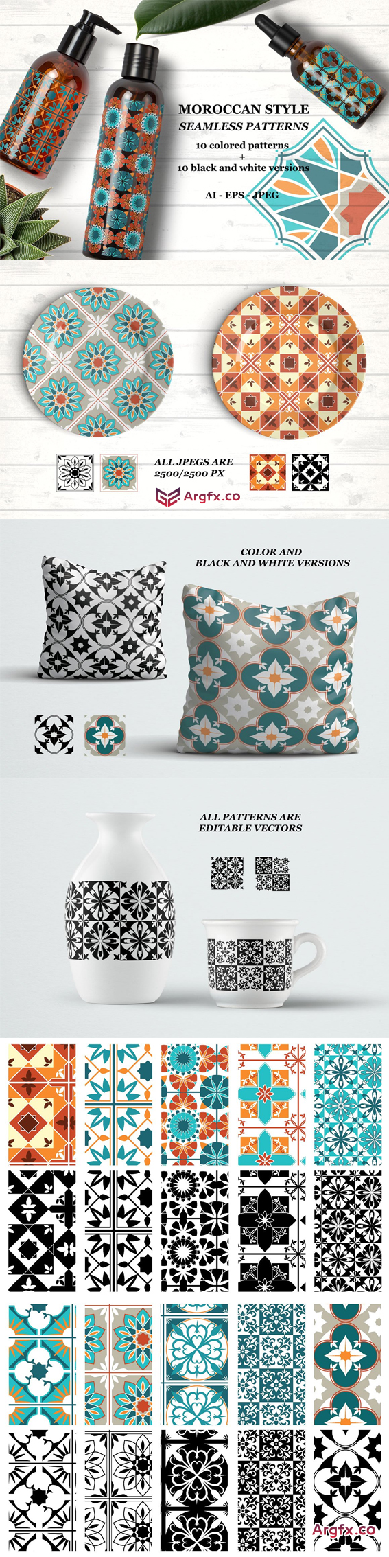 CM - Moroccan style patterns 1810822