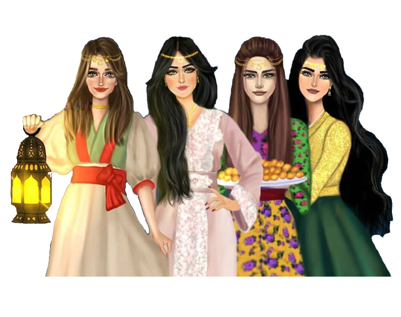 سكرابز بنات رمضان